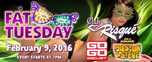 Fat Tuesday Club Risque 2016