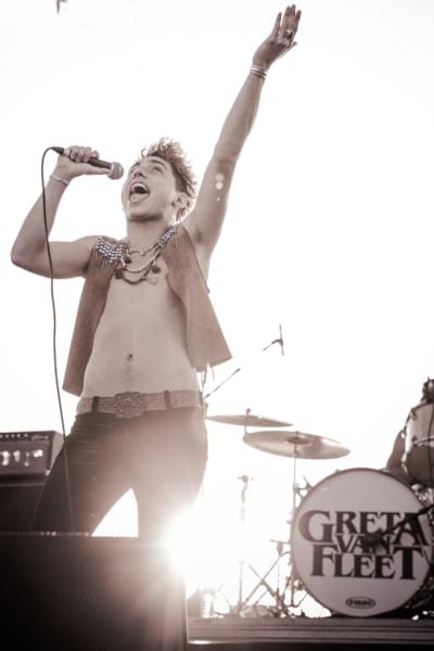 Greta Van Fleet at Rock Allegiance 2017 - via Anthony Jacobsen