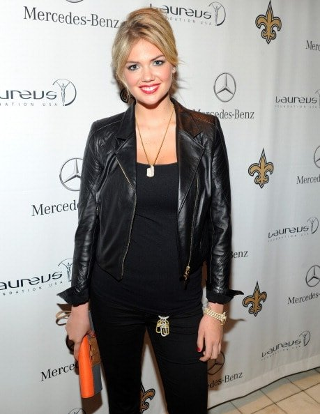 NEW ORLEANS, LA - FEBRUARY 02:  Model Kate Upton attends the Mercedes-Benz Laureus Event at The Wedding Cake House on February 2, 2013 in New Orleans, Louisiana.  (Photo by Craig Barritt/Getty Images for Mercedes-Benz)