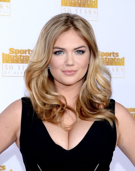 HOLLYWOOD, CA - JANUARY 14:  Model Kate Upton attends NBC and Time Inc. celebrate the 50th anniversary of the Sports Illustrated Swimsuit Issue at Dolby Theatre on January 14, 2014 in Hollywood, California.  (Photo by Dimitrios Kambouris/Getty Images)