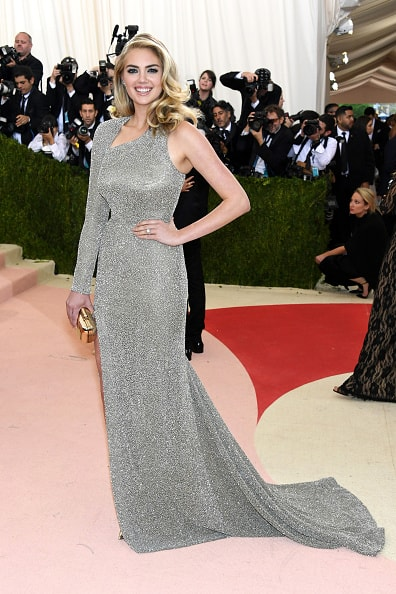 "NEW YORK, NY - MAY 02:  Model Kate Upton attends the ""Manus x Machina: Fashion In An Age Of Technology"" Costume Institute Gala at Metropolitan Museum of Art on May 2, 2016 in New York City.  (Photo by Larry Busacca/Getty Images)"