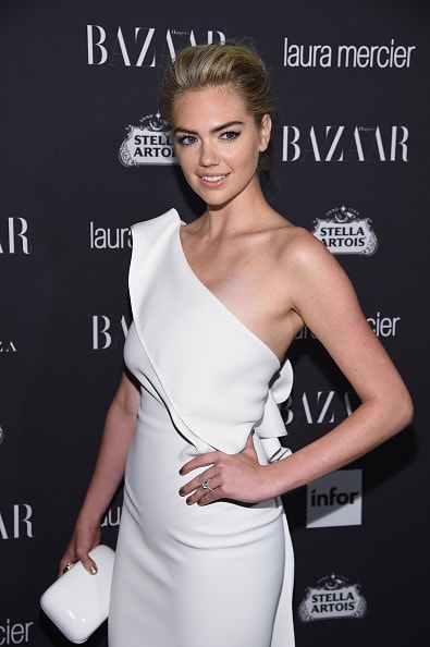 "NEW YORK, NY - SEPTEMBER 09:  Kate Upton attends Harper's Bazaar's celebration of ""ICONS By Carine Roitfeld"" presented by Infor, Laura Mercier, and Stella Artois  at The Plaza Hotel on September 9, 2016 in New York City.  (Photo by Dimitrios Kambouris/Getty Images for Harper's Bazaar)"