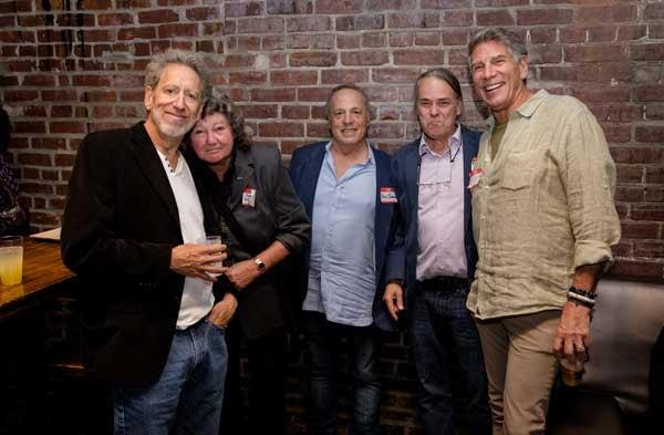 L-R Rick Kramer, Lyn Kratz, Bob Cardelli, Bill Vitka, Mark Goodman