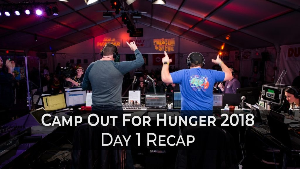 Totals are in!! 2018 Camp Out for Hunger Collected