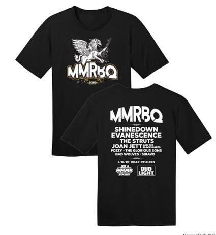 MMRBQ 2019 Concert T-shirt