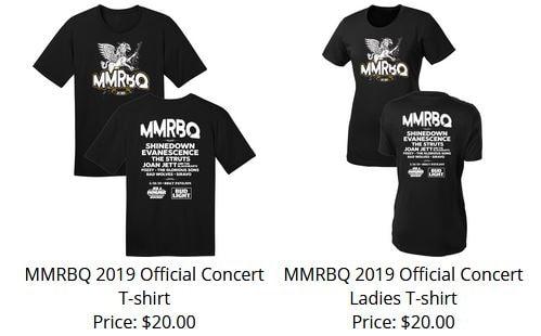 MMRBQ 2019 Tshirt presale
