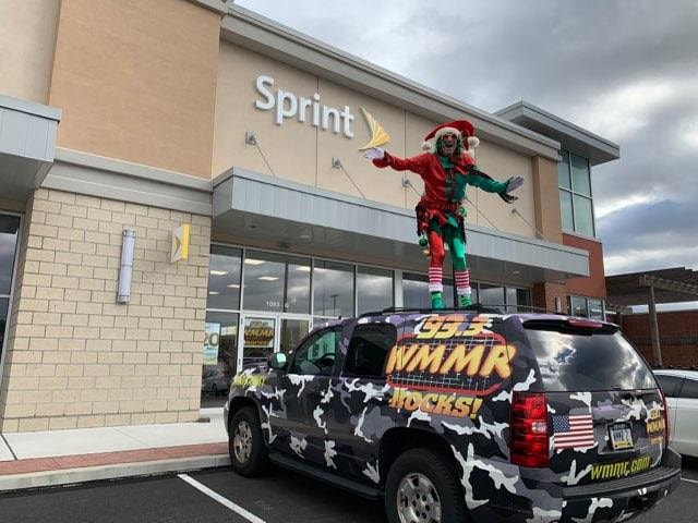 Jacky Bam Bam festivities @ Sprint, 1067 W. Baltimore Pike in Media PA 12.22.18