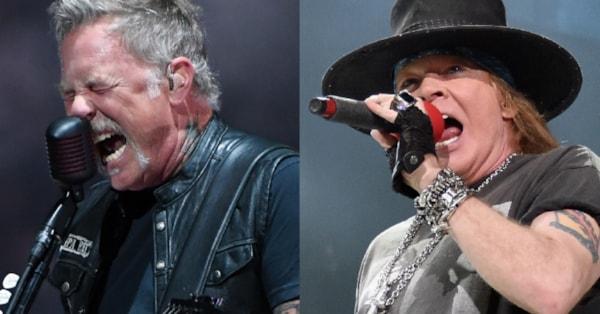Metallica, Guns N' Roses Make 'Forbes' World's Highest-Paid