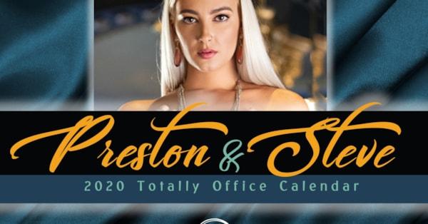 Preston And Steve Totally Office Calendar 2021 Preston & Steve 2020 Totally Office Calendar