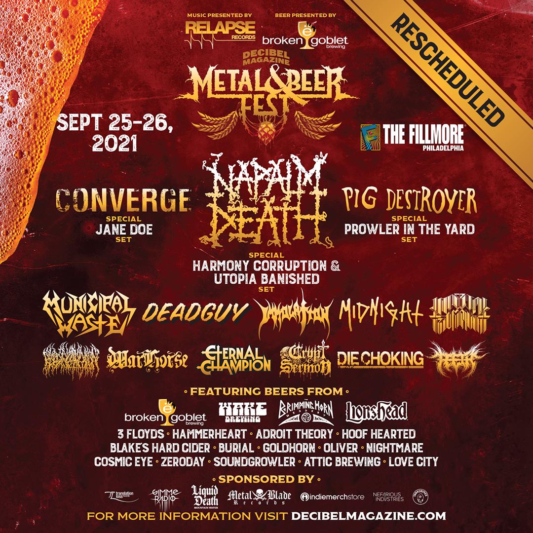 Decibel Metal and Beer Fest