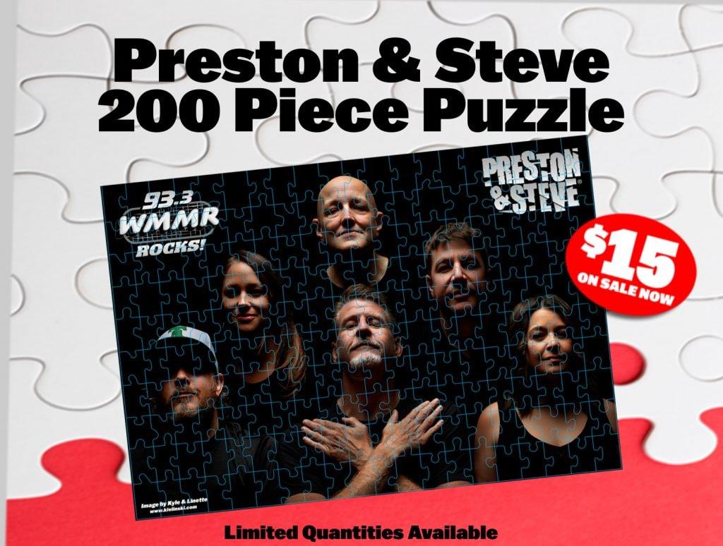 Preston & Steve 200 Piece Puzzle