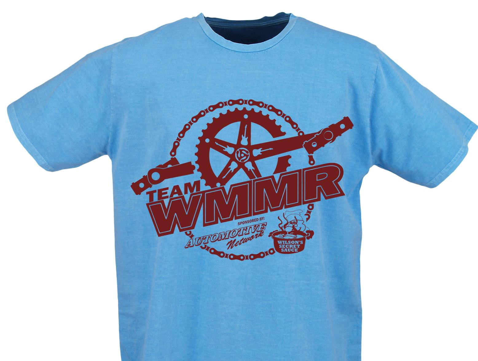 Team WMMR ACS Bike-a-thon 2020 T-shirt
