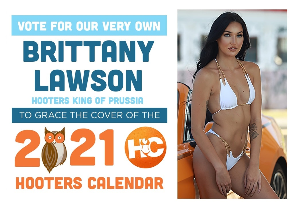 Preston And Steve Totally Office Calendar 2021 Help Our Miss January '19 Become the Next Hooters Cover Girl