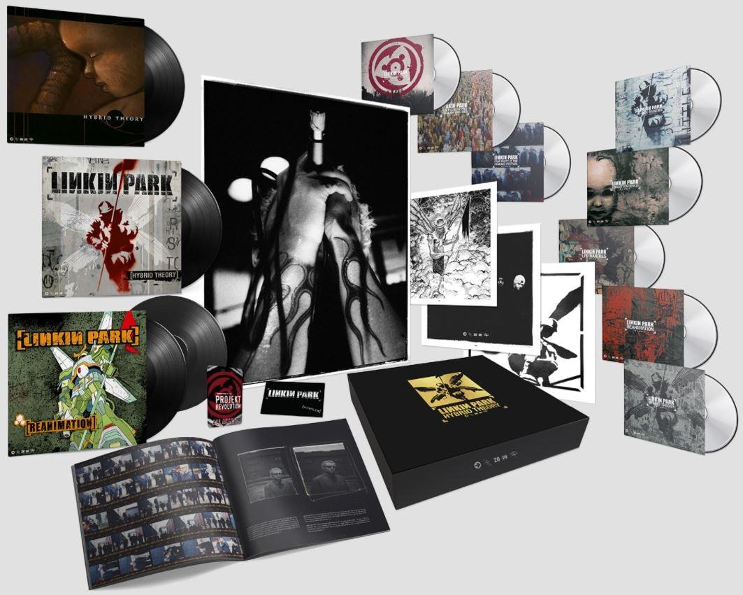 Linkin Park Hybrid Theory 20th Anniversary Box Set