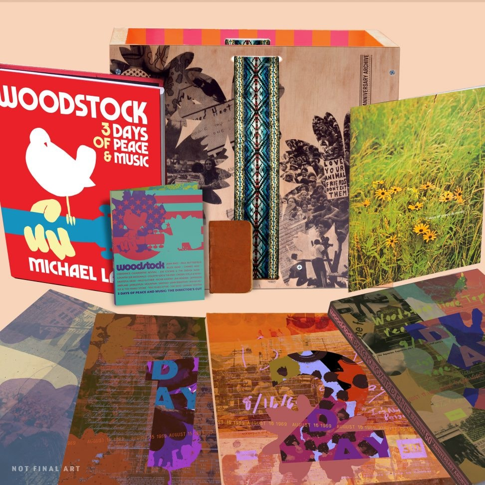Woodstock 38-Disc Box Set Coming Out in August