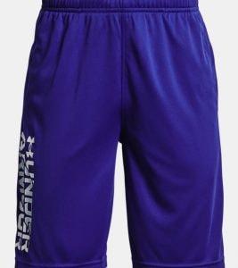 blue boys under armour shorts