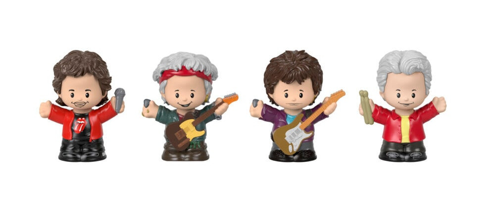 Fisher-Price - Little People Collector - The Rolling Stones Figures